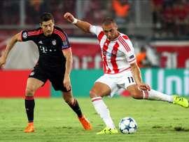 El ex del Olympiakos regresa a Suiza. EFE