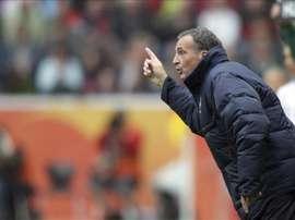 El entrenador Bruno Bini. EFE/Archivo