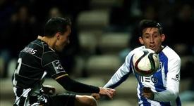 El Lyon quiere a Héctor Herrera. EFE/Archivo