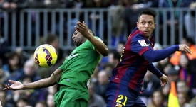 Kalu Uche podría volver a jugar en España. EFE/Archivo