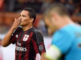 Vitória confortável do AC Milan frente ao Palermo. EFE/EPA