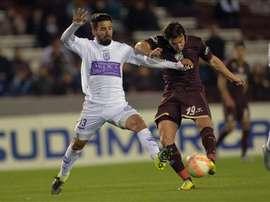Nico Aguirre ha firmado una temporada por el Granada. EFE/Archivo
