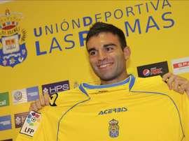 El jugador de la Unión Deporivia Las Palmas Javier Garrido. EFE/Archivo