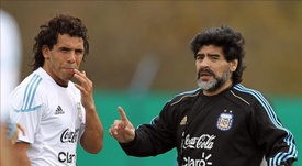 Maradona demostró no tener lo que hay que tener para ser entrenador. EFE/Archivo