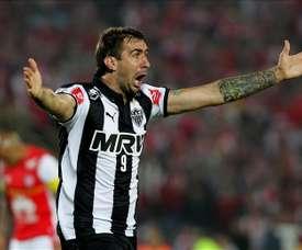Pratto anotó el tanto de la victoria en el último minuto. EFE/Archivo