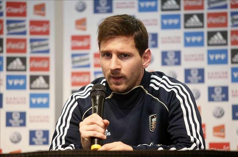 El jugador argentino Lionel Messi. EFE/Archivo