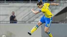 Ibrahimovic se reúne com a Federação para voltar à Seleção da Suécia. EFE