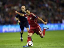 Santi Cazorla will put on the Spain shirt for the first time since 2015. EFE