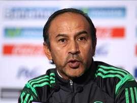 En la imagen, el seleccionador mexicano, Raúl Gutiérrez. EFE/Archivo