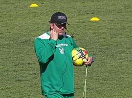 El técnico de selección boliviana de fútbol, Julio César Baldivieso. EFE/Archivo