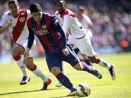 O Barça encara o Rayo. EFE/Archivo