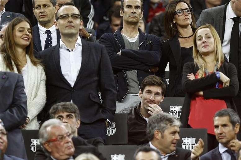 Messi ne sera pas accompagné par Cristiano. EFE