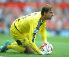 Brighton seal permanent signing of Newcastle keeper Krul. EFE