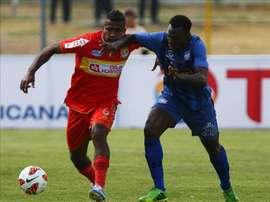 Huancayo cayó en su visita a la cancha de Alianza Atlético de Sullana. EFE