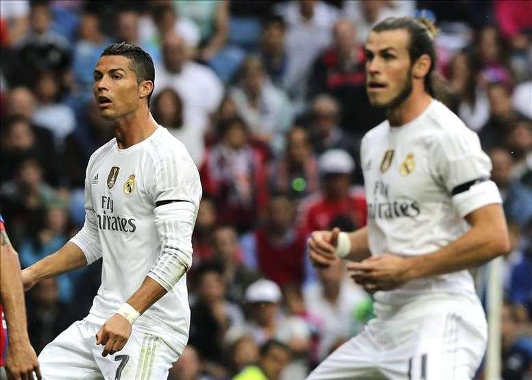Cristiano Ronaldo y Gareth Bale, los dos fichajes más caros del Real Madrid. EFE