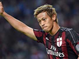 Keisuke Honda will play for Mexican side Pachuga. EFE