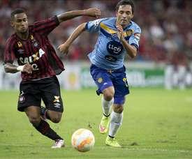 El Atlético Paranaense venció con muchas dificultades a Chapecoense. EFE