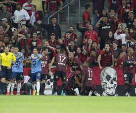 Paranaense sale del descenso tras derrotar a Vasco da Gama. EFE