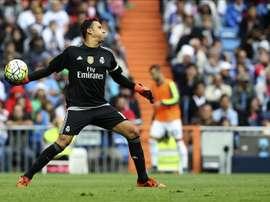 El portero costarricense del Real Madrid Keylor Navas. EFE/Archivo