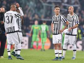 Watford have made a bit for Juventus forward Roberto Pereyra. EFE/Archivo