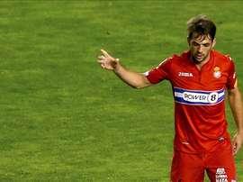 El lateral del Espanyol no tendrá problemas para acompañar a sus compañeros en la gira. EFE