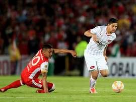 Independiente no fue capaz de vencer a Jaguares. EFE