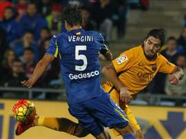 Santiago Vergini podria no recalar en Boca por problemas físicos. EFE