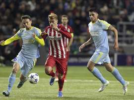 Atletico Madrid were held to a surprise 0-0 draw in Kazakhstan. EFE