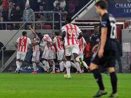 El Olympiakos, en búsqueda y captura de Bruno Viana. EFE