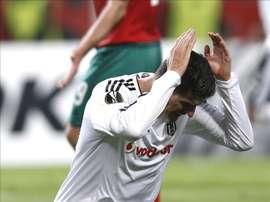 El delantero del Besiktas, el alemán Mario Gomez. EFE/Archivo