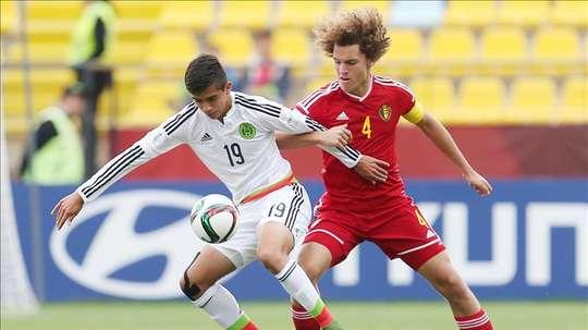 México consiguió la victoria ante Antigua. EFE/Archivo