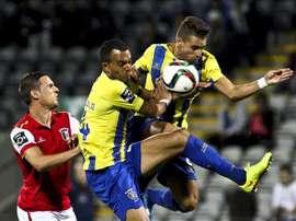Talles Henrique Cunha vuelve al Uniao de Madeira tras su paso por el fútbol moldavo. EFE