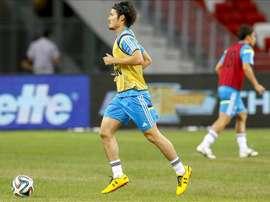 El jugador japonés Daisuke Suzuki. EFE/Archivo