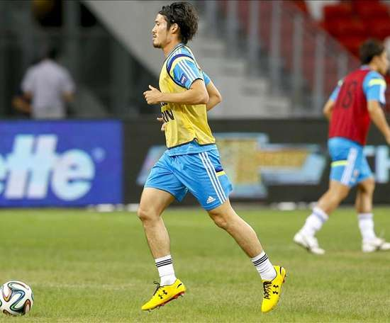 Daisuke Suzuki no seguirá esta temporada en el Nàstic. EFE/Archivo