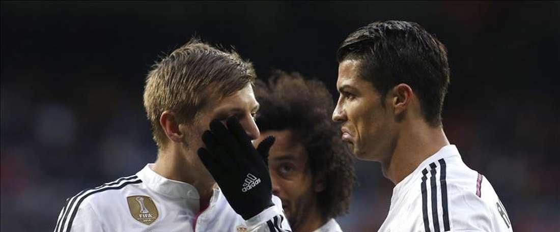 Cristiano Ronaldo e Kroos, de fora. Zidane chama Tejero. EFE/Arquivo