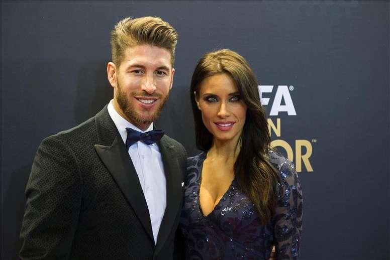 Sergio Ramos y Pilar Rubio se casarán el 15 de junio en Sevilla. EFE
