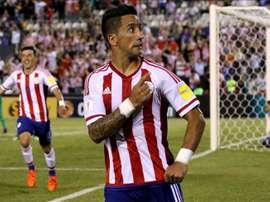 Lesão muscular tira Barrios dos dois próximos jogos do Grêmio. EFE