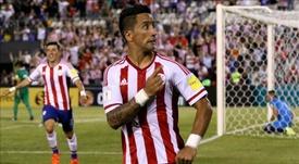 Lucas Barrios recordó su paso por el Borussia Dortmund. EFE/Archivo