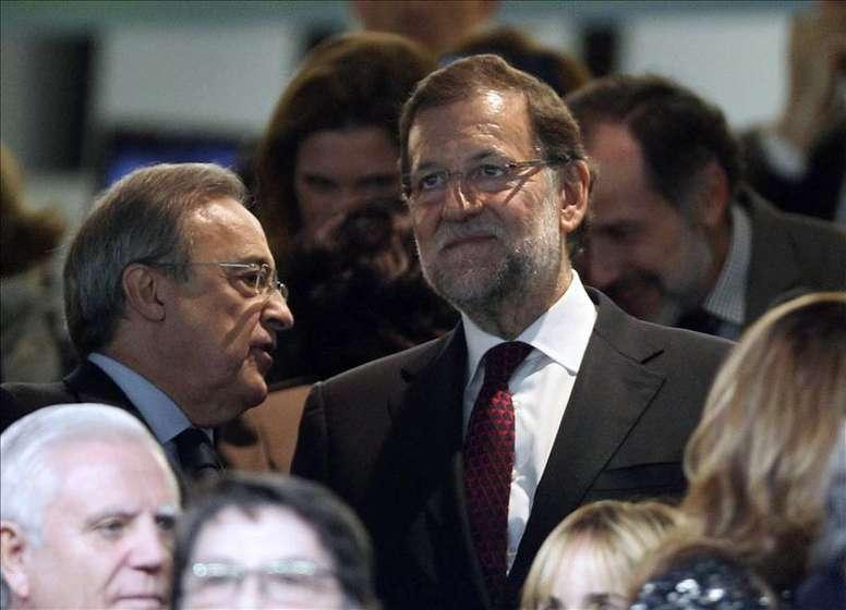 Rajoy fue cuestionado por si el futuro del Madrid pasaba por Mbappé. EFE