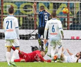 El portero italiano recala en la Liga Griega para jugar en el Olympiacos EFE/EPA
