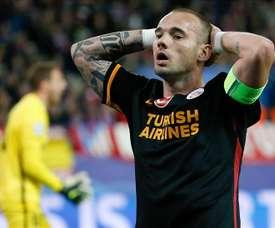 Sneijder plans Sampdoria switch. EFE