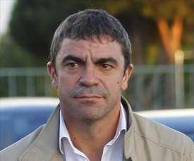 Sanchis pense qu'Isco et Solari sont condamnés à s'entendre. EFE