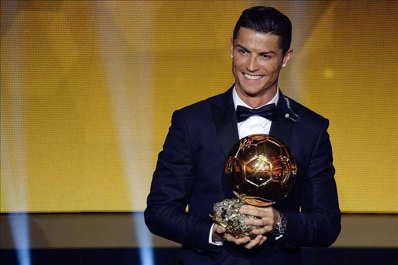 Cristiano ne serait pas présent à Paris. AFP