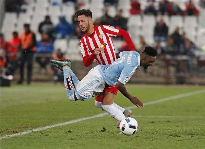 Adrián Castellano, nuevo jugador del Real Club Celta de Vigo. EFE