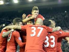 El Liverpool ganó con facilidad al Southampton. EFE/EPA/Archivo