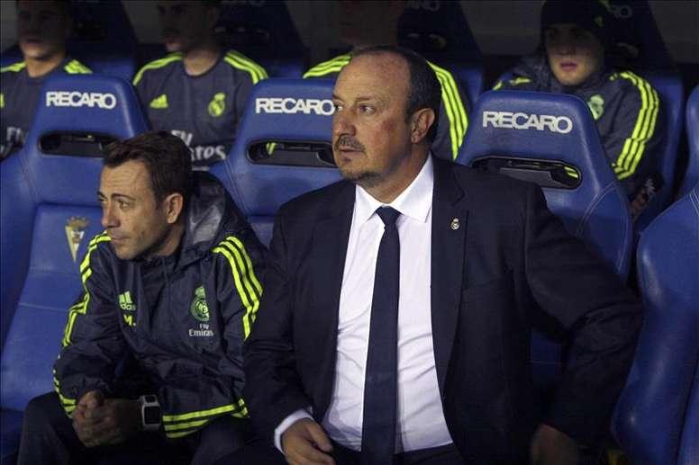 Benitez fue uno de los principales valedores del guardameta en el Madrid. EFE