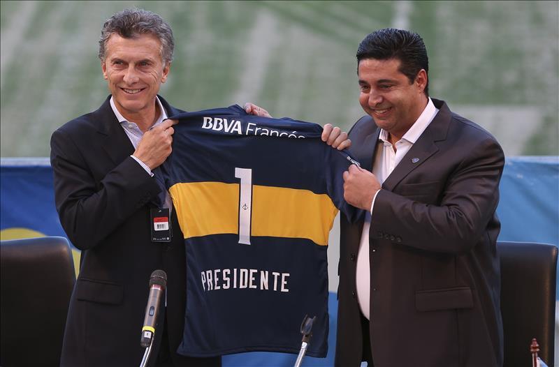 Tras el título de Boca, Diego Maradona se acordó de Angelici