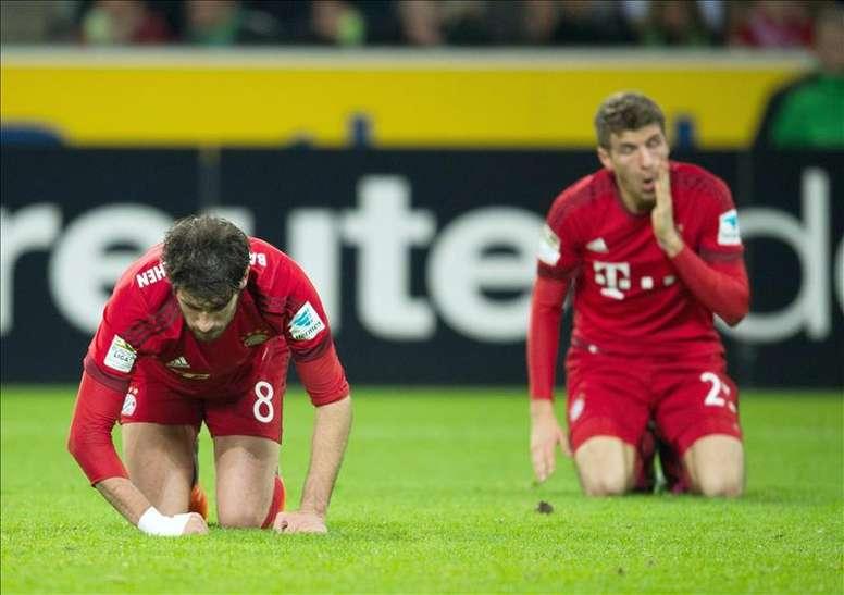 Na Bundesliga, pensam em planos a longo prazo para se recuperar do coronavírus. EFE/EPA