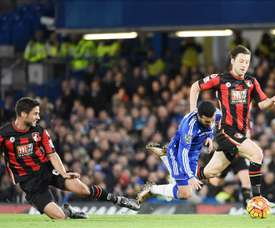 Bournemouth's Andrew Surman hopes to win against Watford on Saturday. AFP