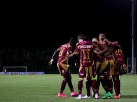 Deportes Tolima logró vencer a Independiente Medellín por 2-1. EFE/Archivo